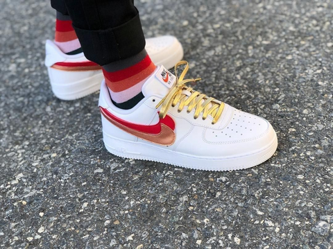 Air Force 1 Gold Laces