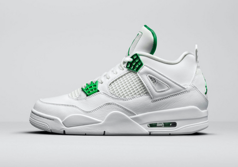 Air Jordan 4 Retro 'Metallic Green'