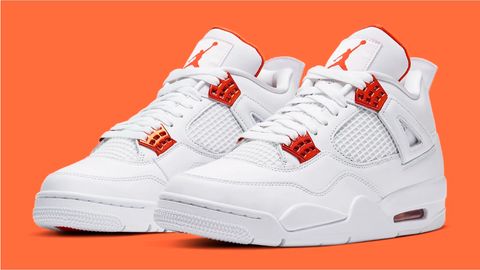 Air Jordan 4 Retro 'Metallic Orange'