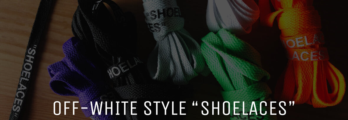 Shop Lace Lab Off-White Shoe Laces - Only $4.95 per pair