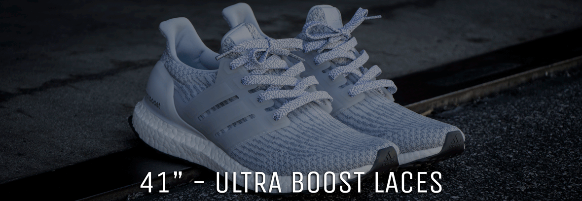finest selection 940e2 f99b3 Ultra Boost Shoe Laces - Lace Lab