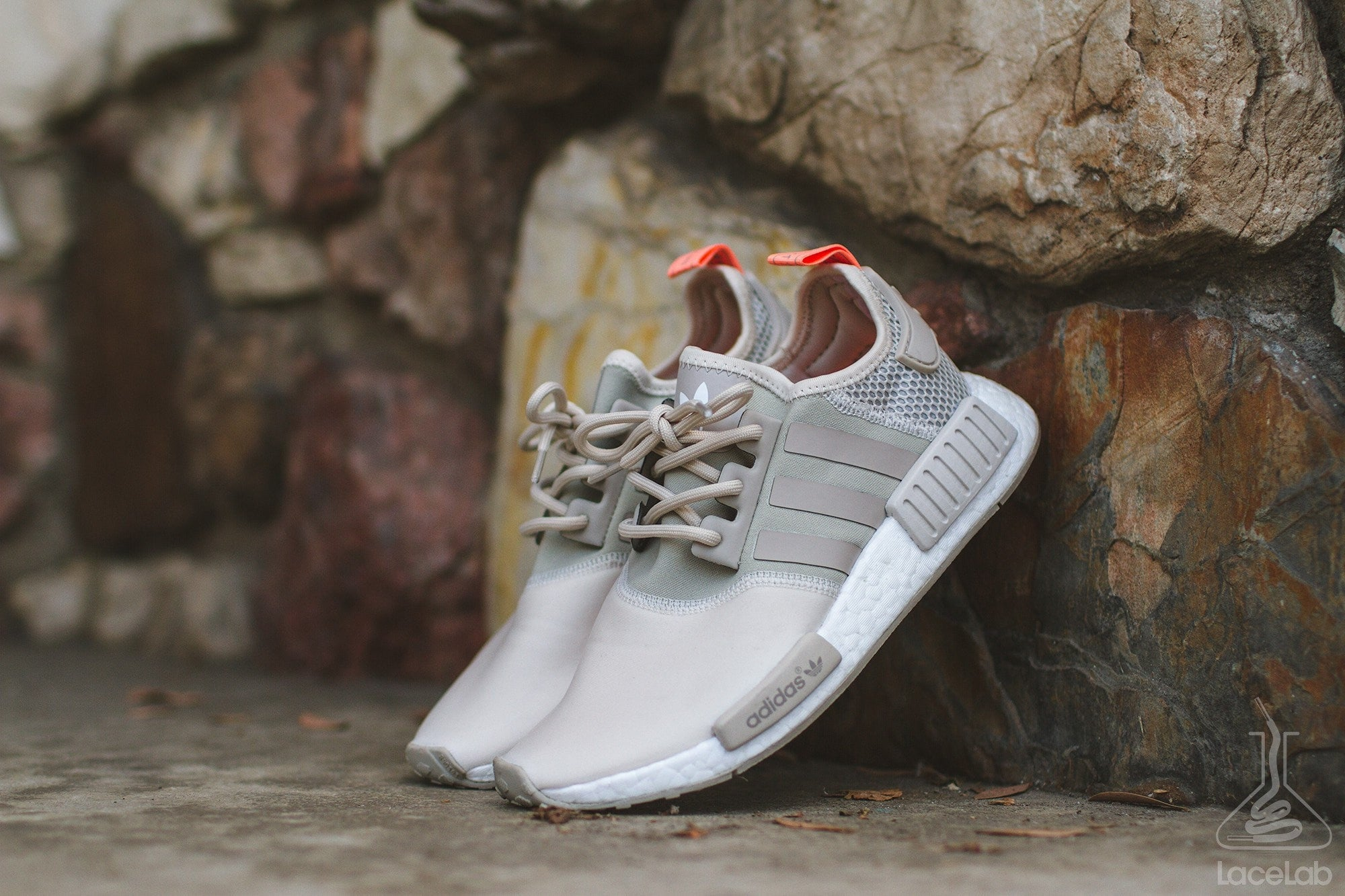 0751a6f9a Beige Rope Laces on Adidas NMD - 30