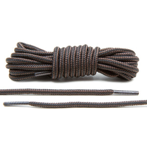 Black/Brown Boot Laces