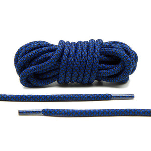 Blue/Black Rope Laces