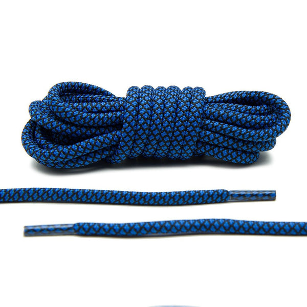 fb69845fb The Columbia Blue and Black Rope Laces