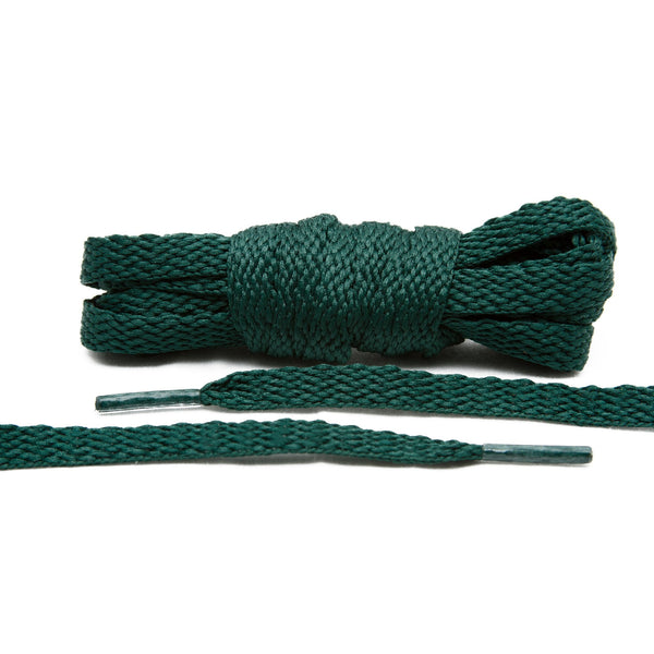 Lace Lab's dark green shoes laces are a necessary piece for your sneaker collection.