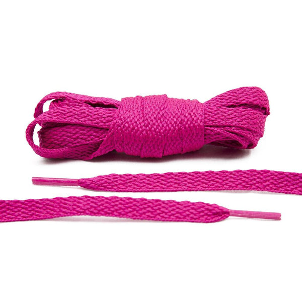 The perfect splash of color for your canvas sneakers, Lace Lab's Fuchsia Shoe Laces are a must.