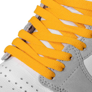 Gold Jordan 1 Replacement Shoelaces