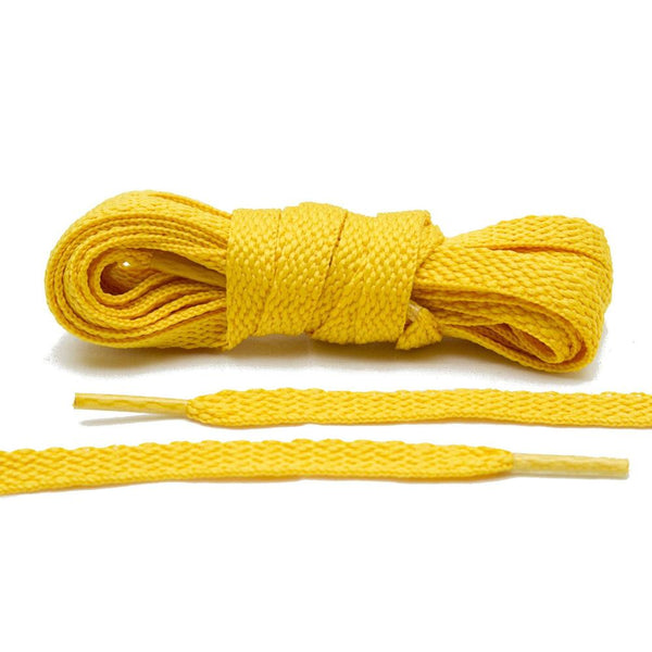 Lace Lab's Gold Shoe Laces are great for your Lakers customization.