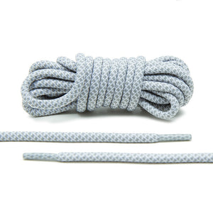 Keep a back up  of laces for your adidas Originals with Lace Lab's Grey/White Rope Laces.