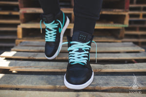 Lace Lab Mint Leather Laces - Air Jordan 1
