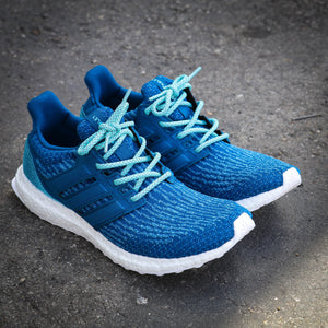 Adidas x Parley Ultra Boost swapped with our Mint 3M Inverse Rope Laces - 36""