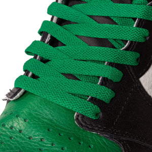 Kelly Green Jordan 1 Replacement Shoelaces