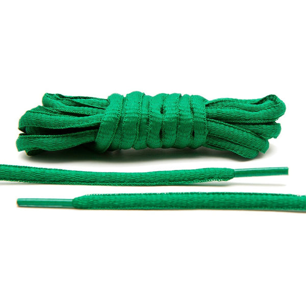 Kelly Green - Thin Oval Laces