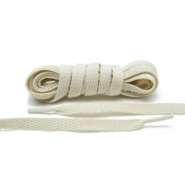 Try a  of Lace Lab Light Beige Shoe Laces for your suede sneakers.
