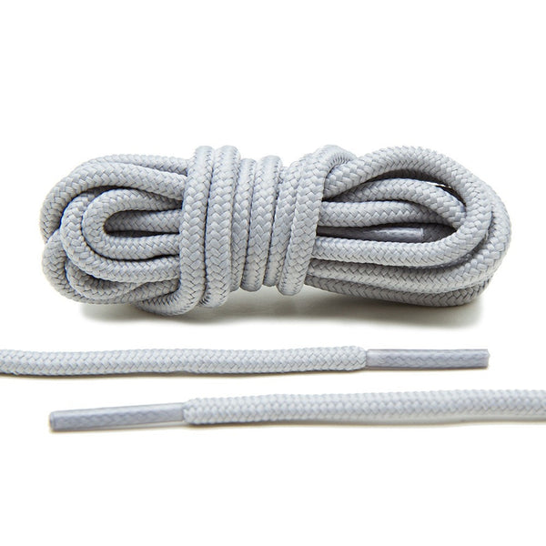 Need a re-up on laces for your OG Jordan 11's? Lace Lab's Light Grey XI Rope Laces are the right match.