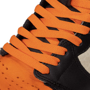 Orange Jordan 1 Replacement Shoelaces