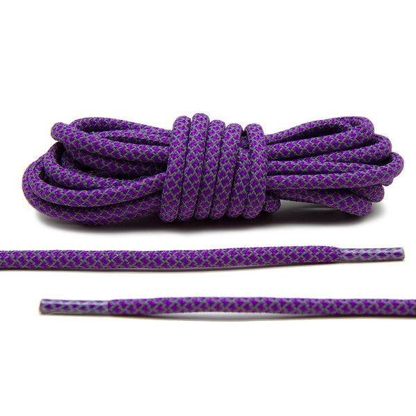 Complete your restoration project with Lace Lab's Purple 3M Reflective Rope Laces.