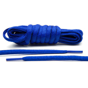Royal Blue - Thin Oval Laces