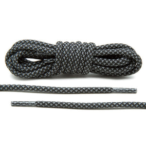 Black 3M Inverse Rope Laces