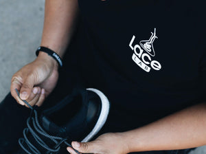 Lace Lab T-Shirt. Rep the brand that carries the best shoe laces for your sneakers!