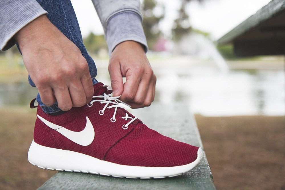 nike roshe run shoe lace length fir