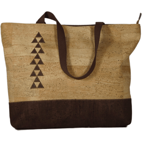 Cork Hapai - Natural - Handmade Vegan Cork Fabric Bags