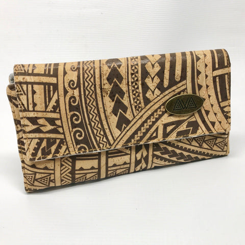 Cork Kolu Wallet - Handmade Vegan Cork Fabric Bags