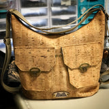 Nakoa Convertible Backpack - Handmade Vegan Cork Fabric Bags