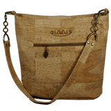 Pakeke - With Cork strap - Handmade Vegan Cork Fabric Bags