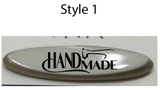 "Oval ""Handmade"" Logo (set of 50)"