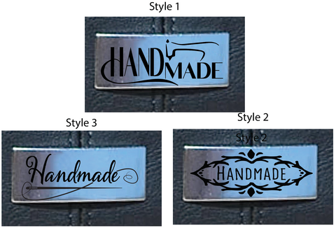"Rectangle - ""Handmade"" Logo (set of 50)"