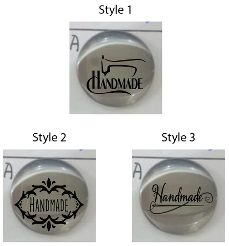 "Circle - ""Handmade"" Logo (set of 50)"