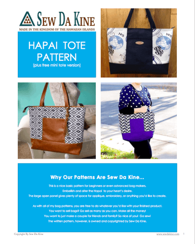 PDF Patterns – Sew Da Kine