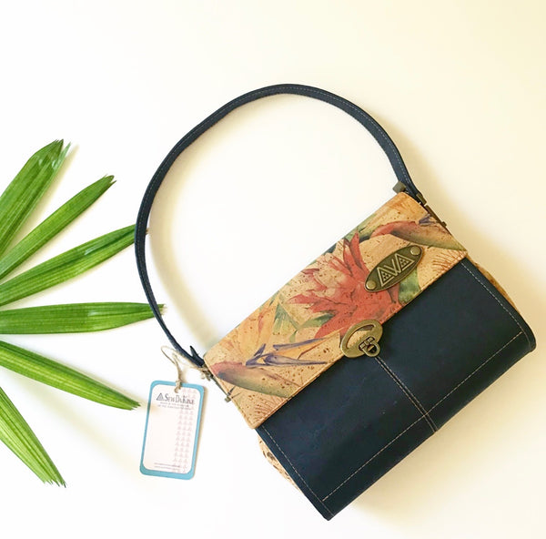 Ho'onani Handbags - Prints - Handmade Vegan Cork Fabric Bags