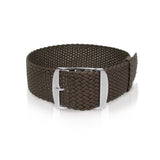 Perlon Strap Brown 22 mm by decowrist.com