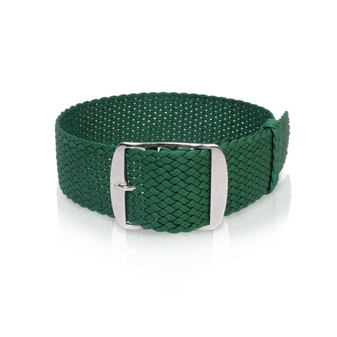Perlon Strap Green Color 22 mm by decowrist.com