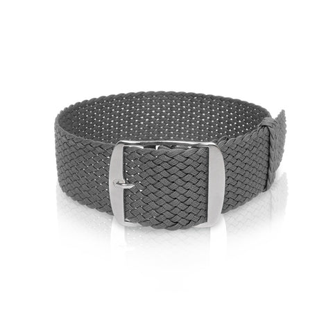 Perlon Strap Charcoal Color 22 mm by decowrist.com