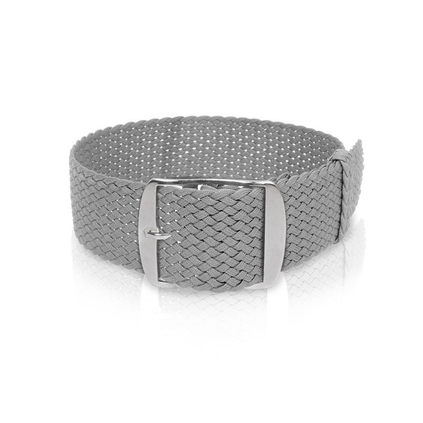 Perlon Strap Grey Color 18mm / 20mm by decowrist.com