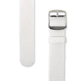 Perlon Strap White Color 22 mm by decowrist.com