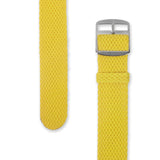 Perlon Strap | Yellow 18mm / 20mm Straps - Decowrist