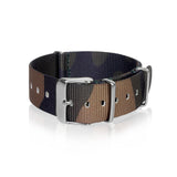 Nato Strap 18mm 20mm 22mm - Camouflage Central European pattern by Decowrist.com