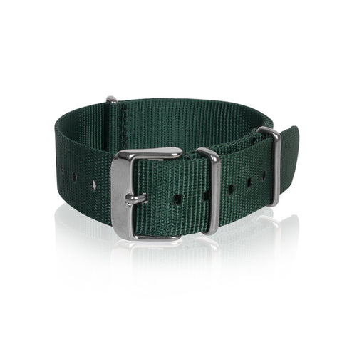 Nato Strap 18mm 20mm 22mm - Green Color by Decowrist.com