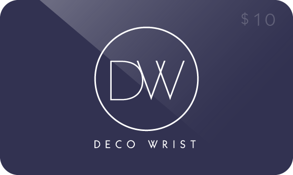 DecoWrist Gift Coupon $10 - Perlon and Nato watch band straps