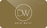 DecoWrist Gift Coupon $50- Perlon and Nato watch band straps