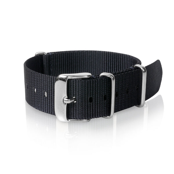Nato Strap 18mm- Navy Blue by Decowrist.com