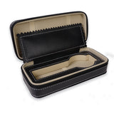 Personalized Portable Watch Case for 1 Watch - Black