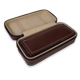 Personalized Portable Watch Case for 1 Watch - Brown