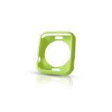 Matt Green Ultra Slim Soft Silicon Snap On Case for Apple Watch / Apple Watch Sport ( 42mm / 38mm)