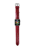 Apple Watch / Sport / Edition 38 42 mm Red Leather Band Strap